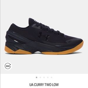 UA Curry 2 Low Basketball Shoes Gum Sole